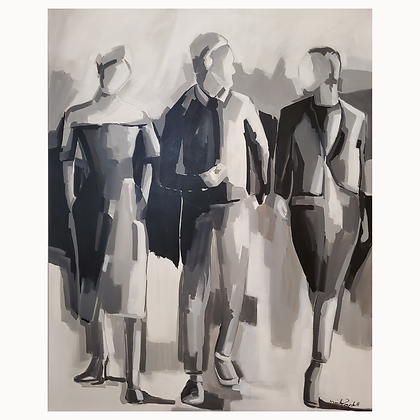 Marilene Zancchett Figurativo Preto&Branco Arte12b Gramado Arte
