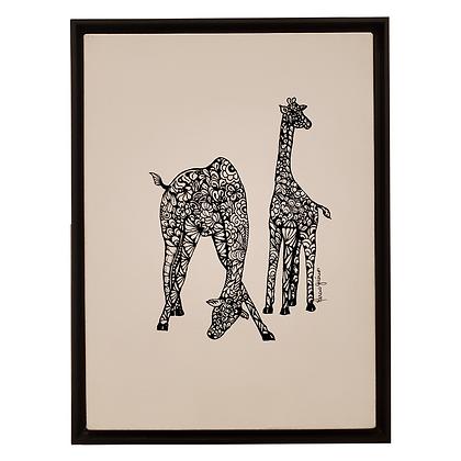 Girafa - Série Animais
