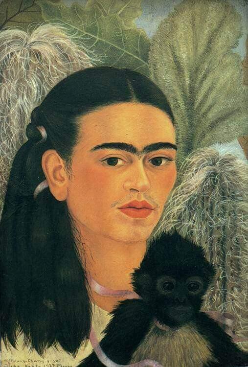 Fulang-Chang e eu - Frida Kahlo, 1937
