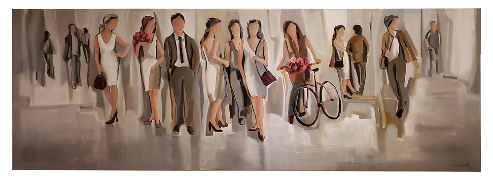Obra da artista plástica Marilene Zancchett disponível na Arte12b