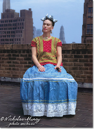 Frida In New York - Nickolas Muray