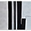 Rosali Plentz Arte12b Gramado Arte - Abstratos Preto e Branco_Díptico