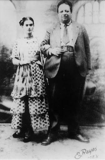 Frida e Diego Dia do Casamento