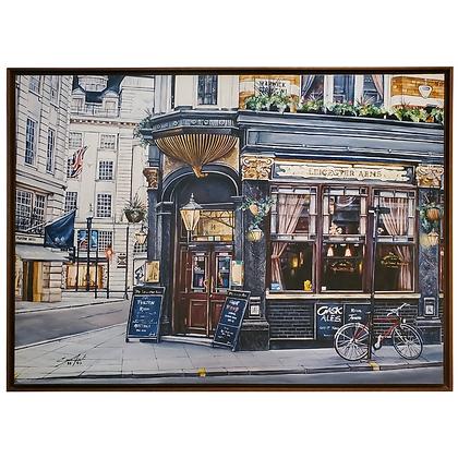 Cassia Acosta_Surrealismo_Arte12b_Gramado_GaleriadeArteemGramado_Galeria de Arte_The Leicester Arms - Pub Londrino