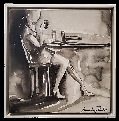 Marilene Zancchett;Preto e Branco; Arte acessível; Gramado