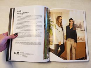 Renata e Joana na revista Guia Glass