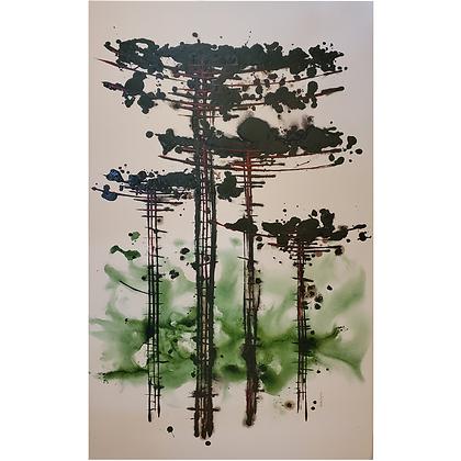 Araucária Verde Oséias Leivas Arte12b Gramado Galeria de Arte