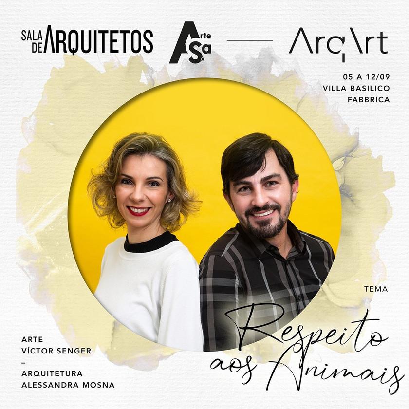 ArqArt Caxias do Sul - Sala de Arquitetos - Vitor Senger