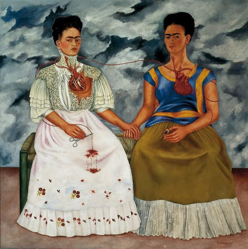 As Duas Fridas - Frida Kahlo, 1939