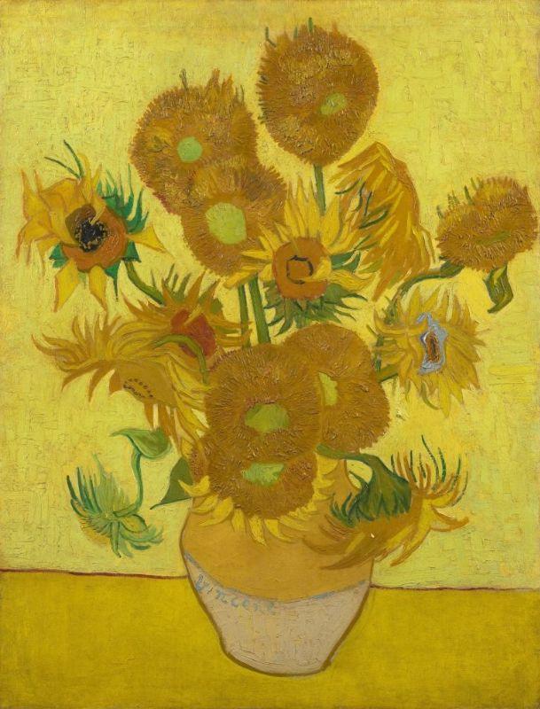 Girassóis, 1889 - Vincent Van Gogh - Setembro Amarelo