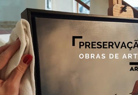Como preservar obras de arte