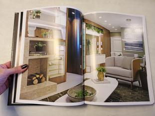 Folhas da revista Guia Glass da Duo + Arquitetura