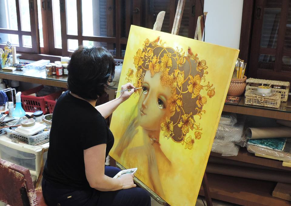 marcia-marostega-pintando