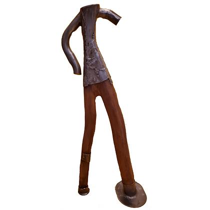 Escultura em Ferro e Madeira_Edu Mantovani_Escultura_Arte12b_Arte_Gramado_Galeria de Arte