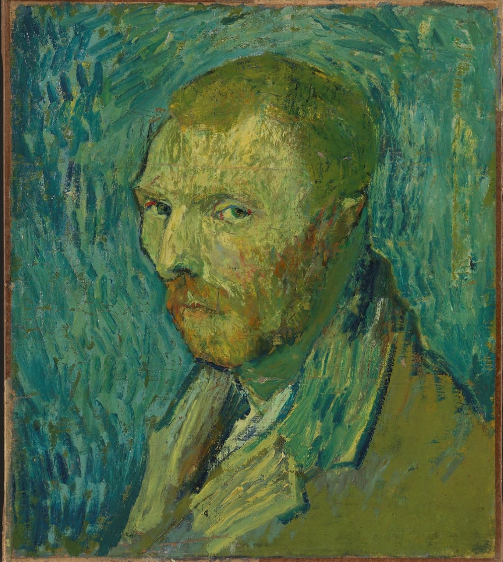 Self-Portrait, 1889- Vincent Van Gogh