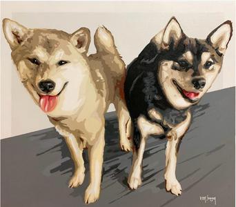 Pets pintados por Vitor Senger