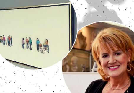 Pintura ao vivo marca o primeiro evento online da Arte12b