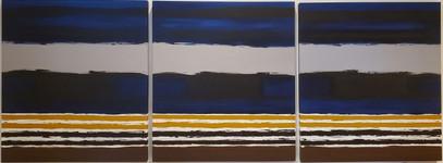 Abstratos Oséias Leivas com Azul