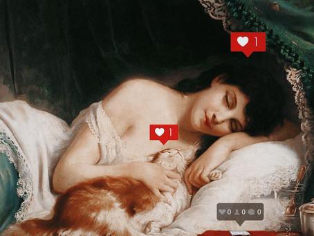 Artista Reinventa Obras de Arte Clássicas no Instagram