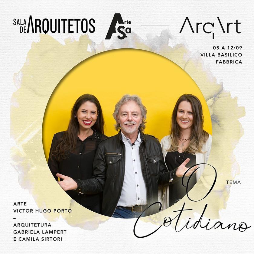ArqArt Caxias do Sul - Sala de Arquitetos - Victor Hugo Porto