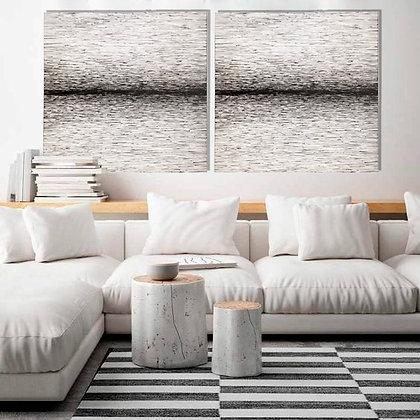 Oseias Leivas Arte12b Gramado Arte Abstrato Preto e Branco Contemporâneo Ambiente Decorado