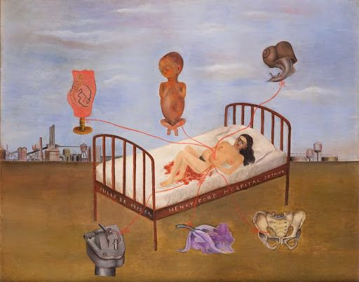 Hospital Henry Ford - Frida Kahlo, 1932