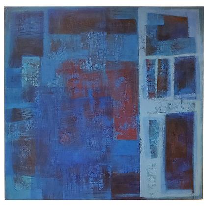Rosali Plentz Arte12b Gramado Arte - Abstrato Azul