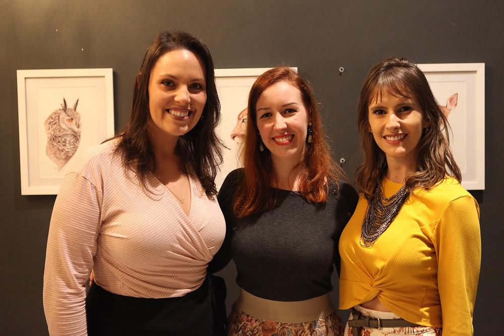 Evento Alma Silvestre na Galeria Arte12b (Foto: Samanta Vasques, Marilia Klen e Marina Dal Ponte))