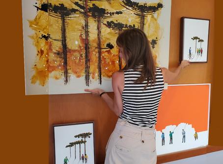 11 maneiras diferentes de criar uma Gallery Wall na sua casa