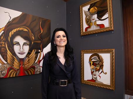 As Deusas e a Mulher Moderna - conheça a nova séria da artista plástica Alessandra Pauletti