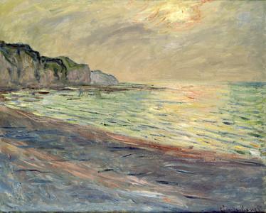 Pourville Sunset, 1882 - Monet