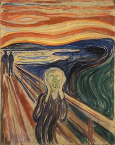 O Grito, 1893 - Edvard Munch