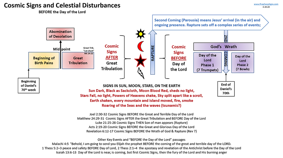 Cosmic Signs and Celestial Disturbances