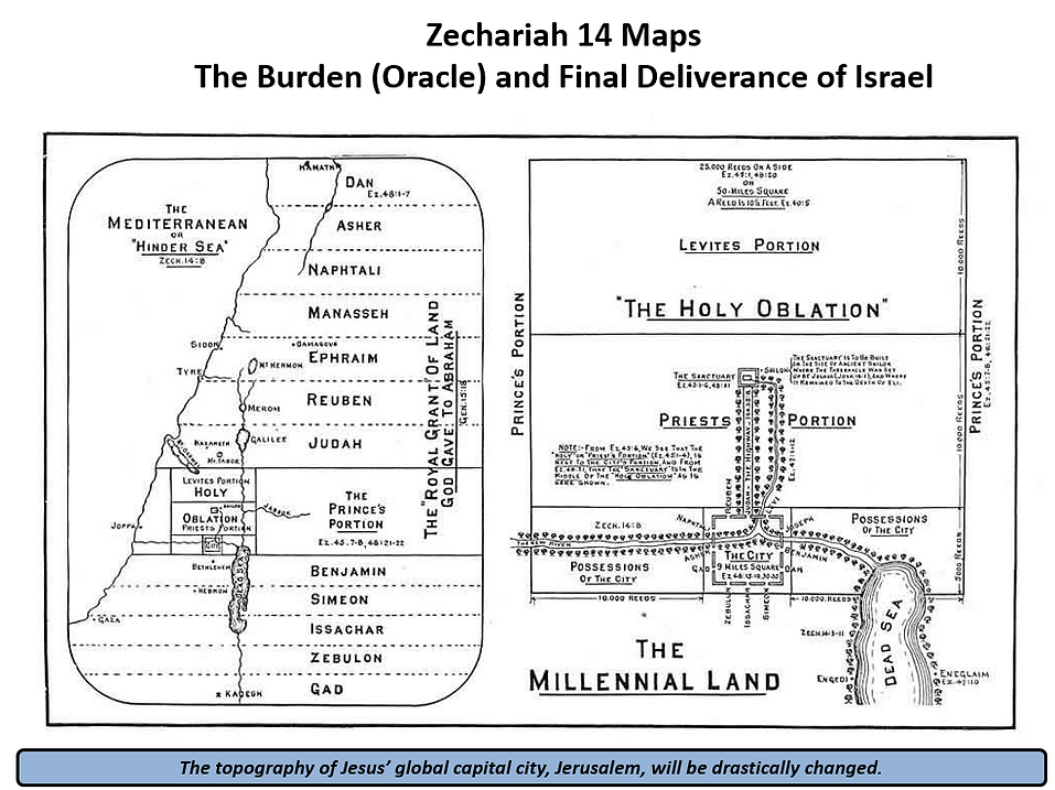 Zechariah 14 Map The Millennial Land.png