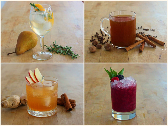 Thanksgiving Weekend Cocktail Guide!