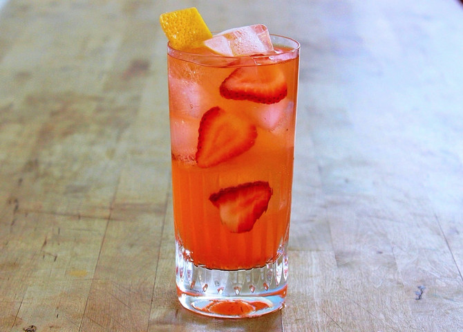 New Recipe: The Red Red Rose