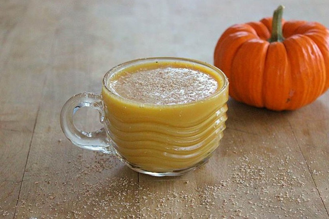 New Recipe Page: Pumpkin Eggnog