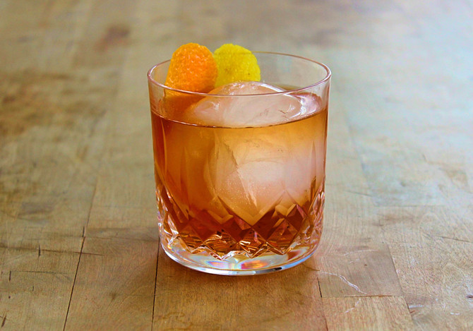 New Recipe Page: Tequila Old Fashioned