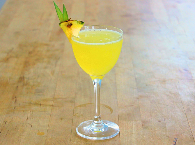 The Pineapple Daiquiri Get it's own Page, and the Classic Daiquiri Page gets a Makeover.
