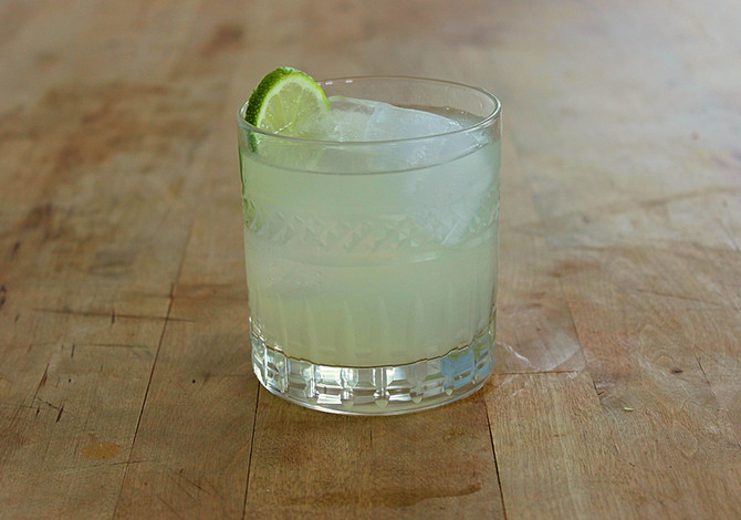 New Recipe Page: The Gimlet