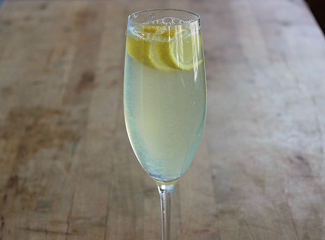 New Recipe Added: French 75