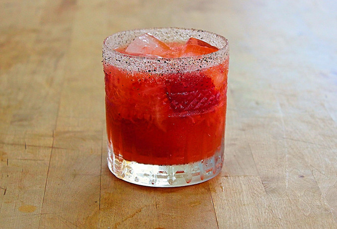 New Recipe Page: The Red & the Black