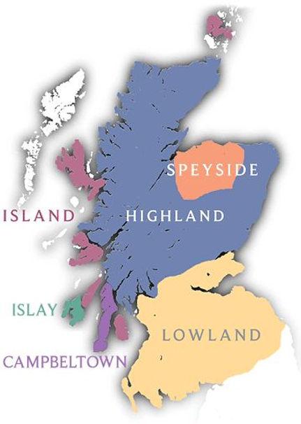 best scotch, peatiest scotch, islay scotch vs highland scotch vs speyside scotch