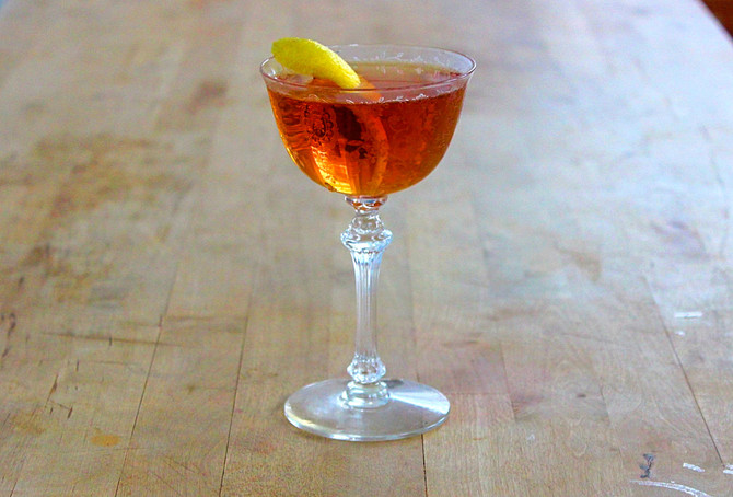 New Recipe: Tom's Perfect Martini