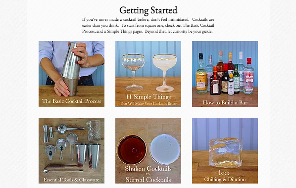 """Added: """"Getting Started"""" Main Page"""