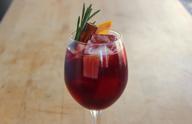 Christmas Sangria and What's I'll be Drinking over the Holidays