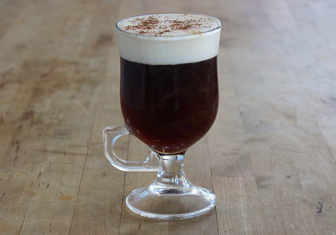 New Recipe Pages: Irish Coffee and the Sidecar