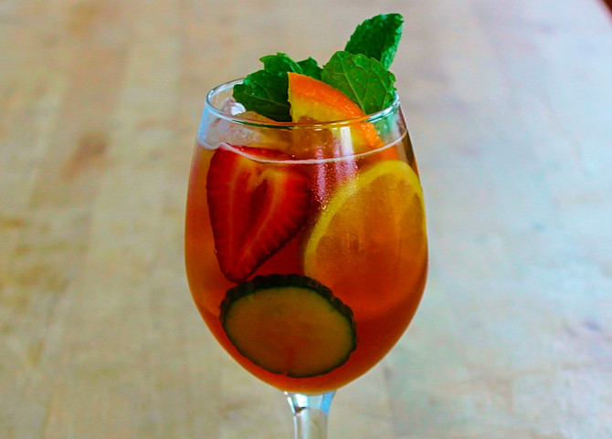 New Recipe Page: The Pimm's Cup