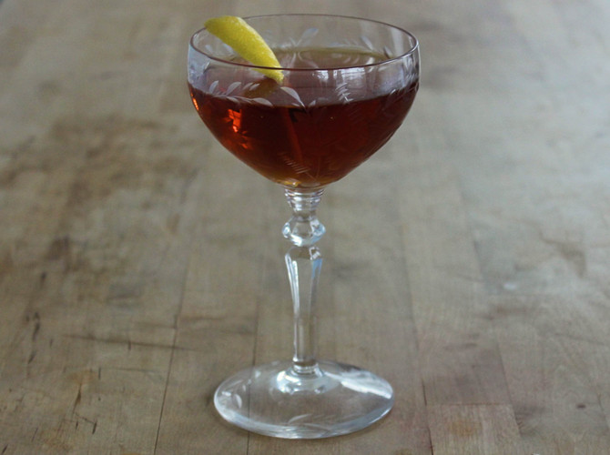 New Recipe: The Martinez