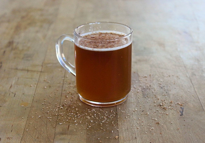 New Recipe: Hot Buttered Rum